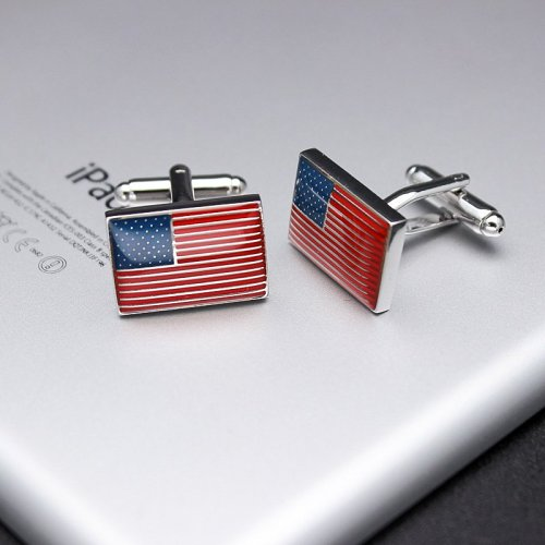 The United States Flag Cufflinks