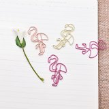 Flamingo Paper Clips