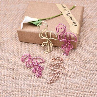 Flamingo Paper Clips