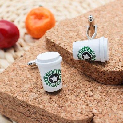 Coffee Cup Cufflinks