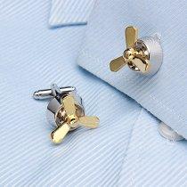 Propeller Cufflinks