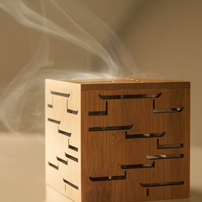 Bamboo Incense Burner