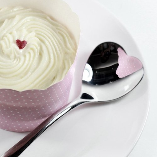 Heart-Shaped Spoon