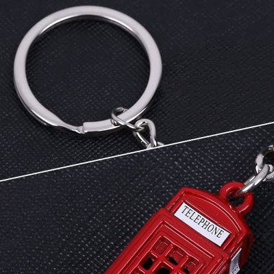 Telephone Booth Keychain