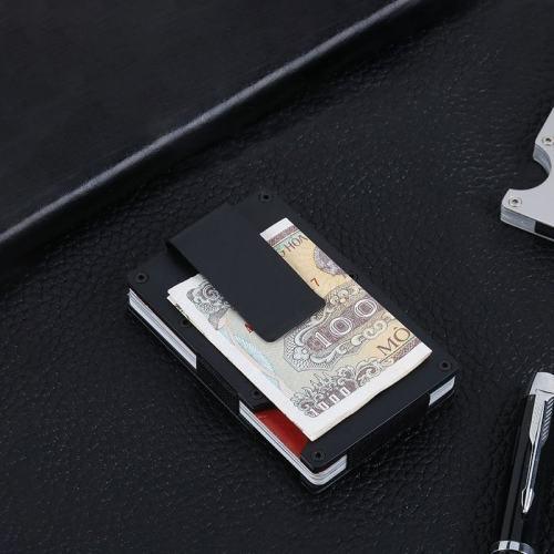 Aluminum RFID Blocking Card Holder