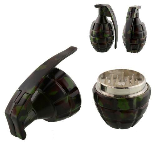 Grenade Herb Grinder