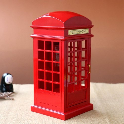 Telephone Booth Music Box