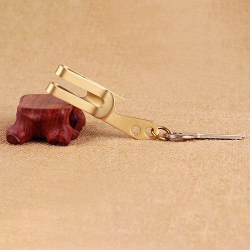 Bottle Opener Money Clip Keychain
