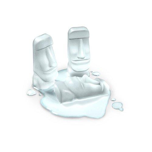 Easter Island Moai Ice Tray