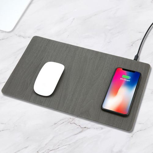 Clearance Sale Wood Grain Wireless Charging Mouse Pad