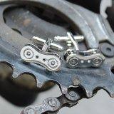Bike Chain Cufflinks