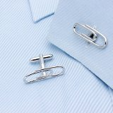 Paper Clip Cuff links