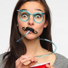 Drinking Straw Glasses