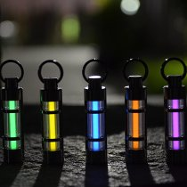 Titanium Alloy Tritium Illuminated Key Chain