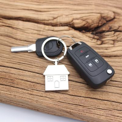 East Or West Home Is Best Keychain