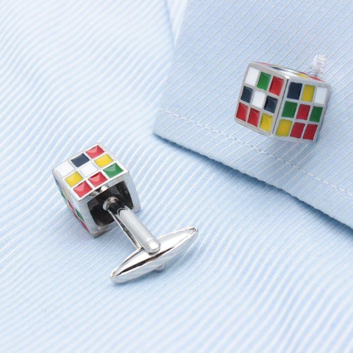 Magic Cube Cufflinks