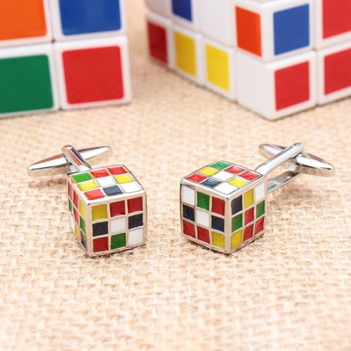 Magic Cube Cufflinks