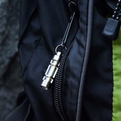 Titanium Alloy Tritium Illuminated Key Chain