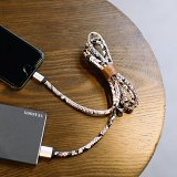Clearance Snake Skin Charging Cable for iPhone iPad Airpods