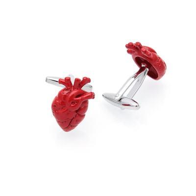 Red Hearts Cufflinks
