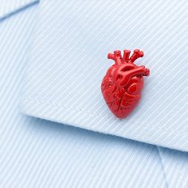 Red Hearts Cufflinks