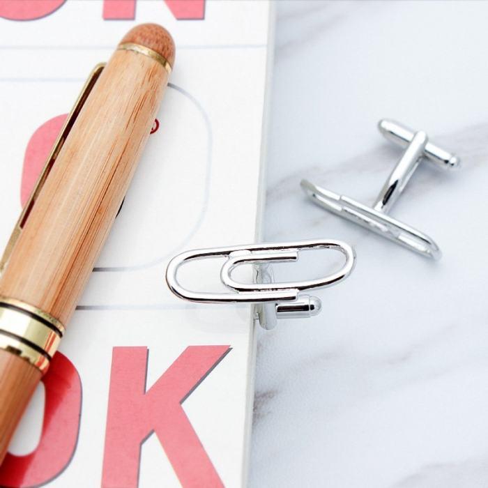 Paper Clip Cuff links