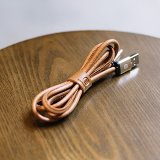 Clearance Leather Charging Cable for Apple iPhone iPad