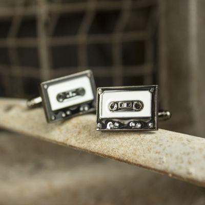 Cassette Cufflinks