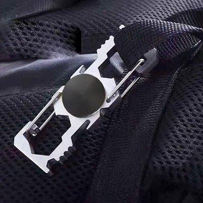 Spinner Spanner Opener Carabiner Keychain