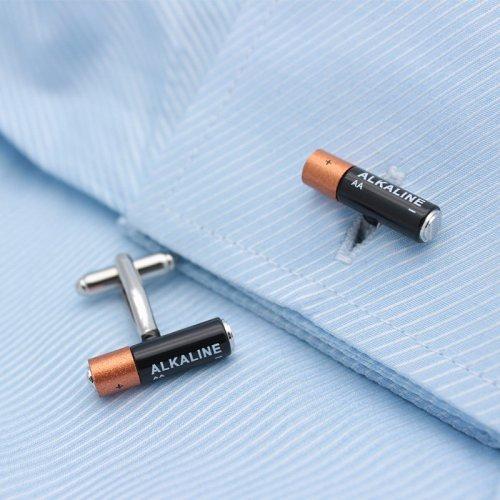 Mini Battery Cufflinks