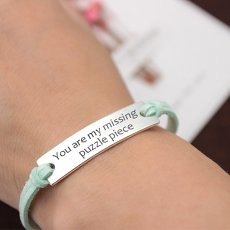 You Are My Missing Puzzle Piece Bracelet