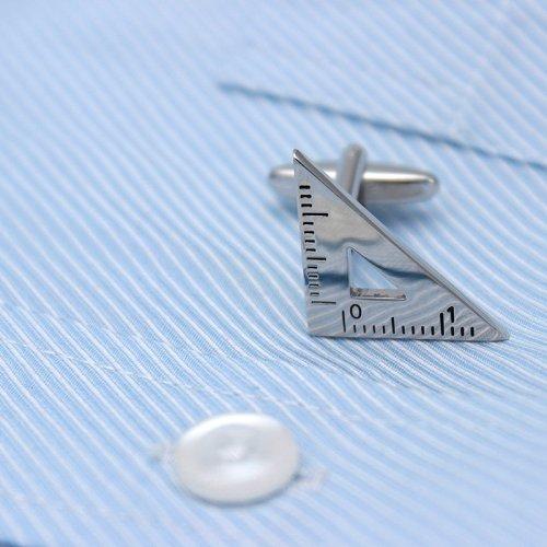Triangle & Protractor Cufflinks