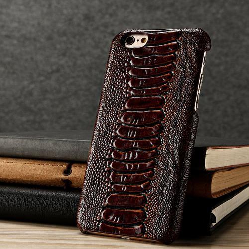 Ostrich Leg Skin iPhone Case
