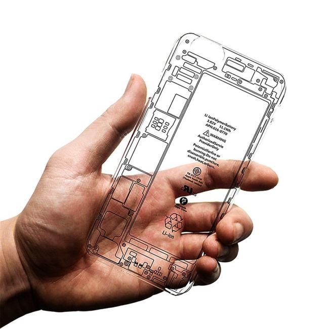 Transparent Inside iPhone Case