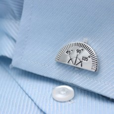 Triangle & Protractor Cufflinks