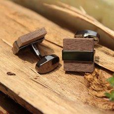 Wenge Wood Cufflinks