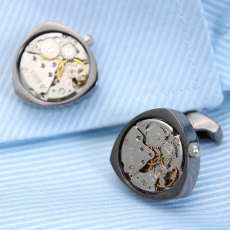 Rotor Motors Watch Engine Cufflinks