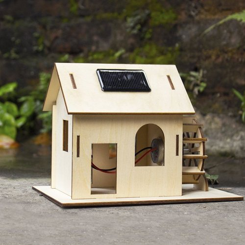 Solar Powered Watermill Kit