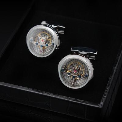 Automatic Watch Tourbillon Engine Cufflinks