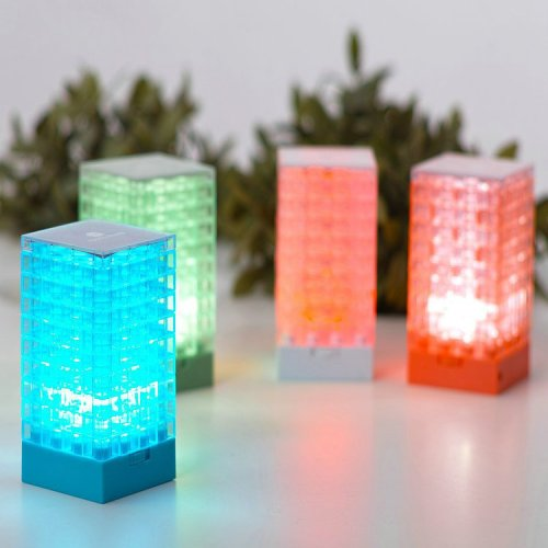 Clearance Sales Photo Frame DIY Blocks Lamp Desktop LED Light