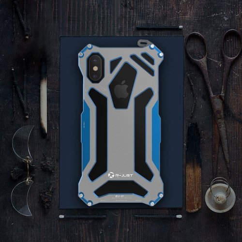 Clearance Titanium Alloy iPhone Bumper Case for iPhone X XS