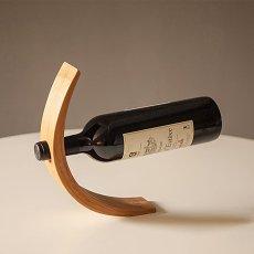 Gravity Bamboo Bottle Holder