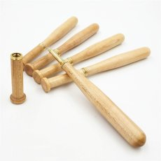 Wooden Baseball Bat Pen