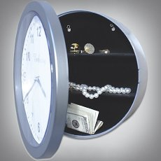 Wall Clock Hidden Safe