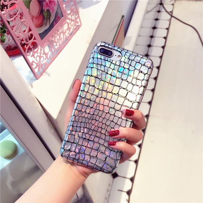 Clearance sale Glitter Crocodile iPhone Case