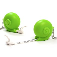 Clearance Snail Tape Keychain Flexible Rule Band Tape