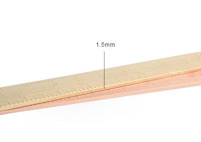 15CM Brass Ruler