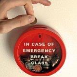 Emergency Break Glass Money Box