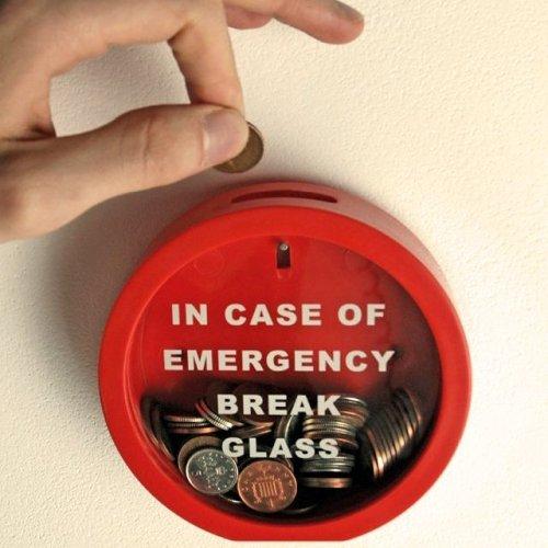 Emergency Break Glass Money Box Piggy Bank Gifts for Kids