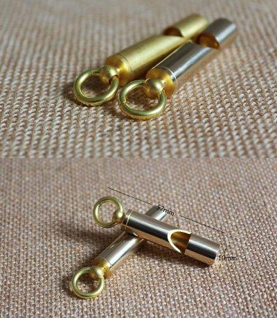 EDC Brass Whistle